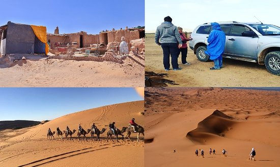 Erg Chebbi, โมร็อกโก: Our Activities ,Walking in desert,4x4 trip, day trip by camels berber pizza,visit the nomads,gnawa music,