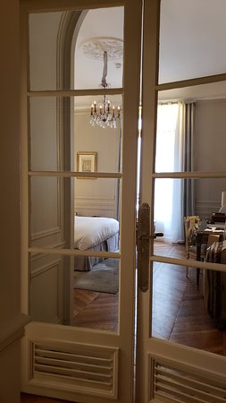 The room from the little entrance hall