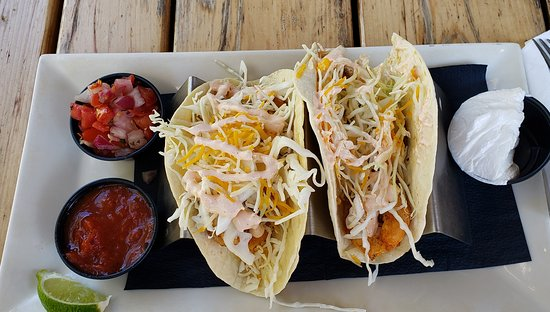 Burlington, CT : Shrimp tacos