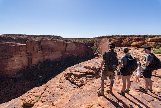 4-Day Camping Trip from Ayers Rock Including Uluru, Kata Tjuta and Kings Canyon: kings canyon rim walk