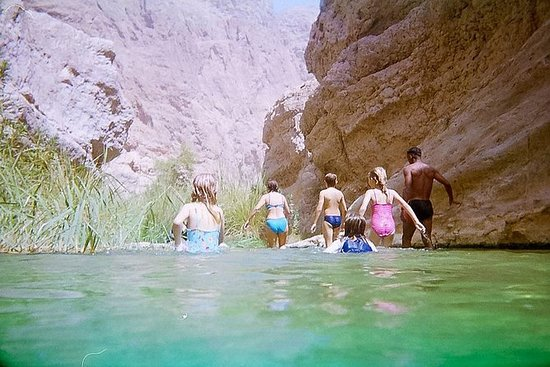 Wadi Shab helgedagstur (Muscat turer...