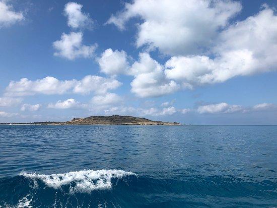 Fotografia de Viagem diurna de cruzeiro à Ilha Chrissi, saindo de Creta