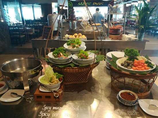 Lunch Buffet at Novotel