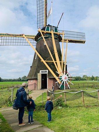 Groot-Ammers, Nederland: de molen maakte indruk, 'dus daar komt het pannenkoekenmeel vandaag' ?