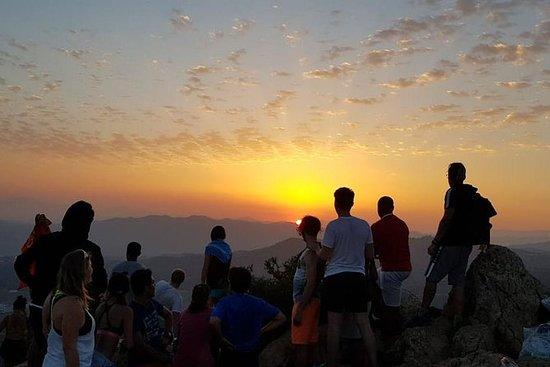 马拉加最好的日落:徒步旅行和野餐