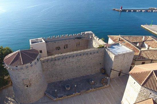 Het Frankopan kasteel Krk ...