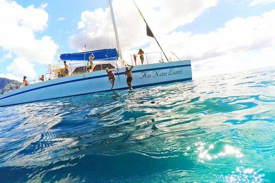 Tour Isla Mujeres in catamarano con