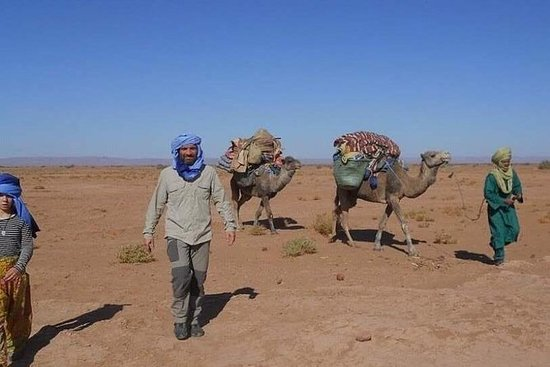 KULTUR, TREKKING, ERLEBNISSE UND ENTSPANNUNG IN DER SAHARA. (Exklusiv): DISCOVERING THE SOUTH VIRGIN OF THE SOUTH. (Exclusive)