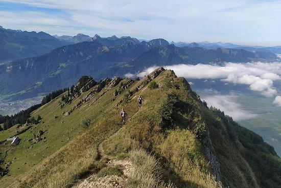 trailrunning om een prachtige top te ...