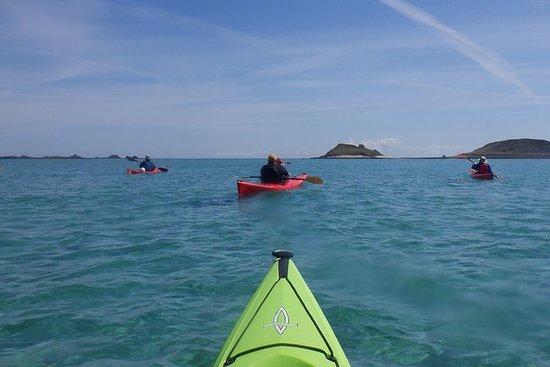 Viaje en kayak por las islas de Scilly
