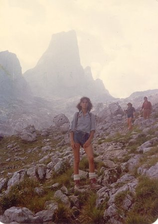 Bulnes, Spania: Subida al Pico de Urriellu.