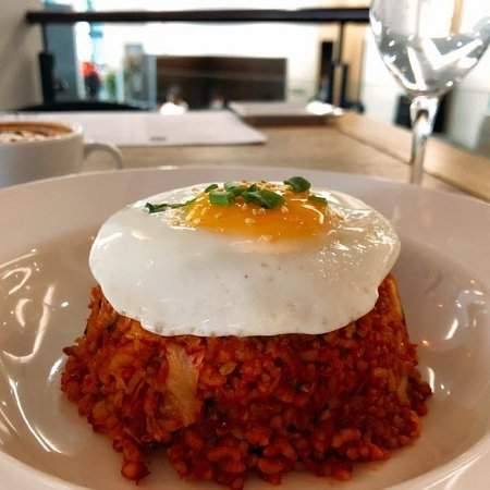 Cafe del SeOUL: Tuna kimchi Fried rice- Brown rice or White rice