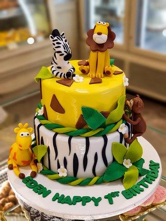 "Pasticeri Mon Amour Torte e Personalizuar per Ditëlindje ""Birthday Cake"""