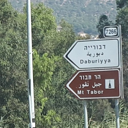 Sharona, Israel: SiteViewMt.Tabor One of a holy place also mt.tabor  hoping i visit soon this mountain because its a tourist place. In the HebrewBible(Joshua, Judges),Mount Taboris the site of the Battleof Mount Taborbetween the Israelite army under the leadership of Barak and the army of the Canaanite king of Hazor, Jabin, commanded by Sisera. In Christian tradition,Mount Taboris the site of the transfiguration of Jesus.