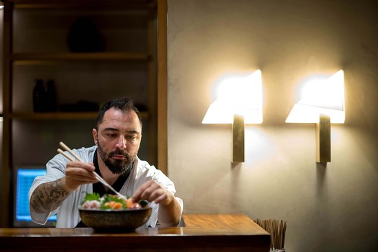 KINJO: Our chef Nikos Politakos