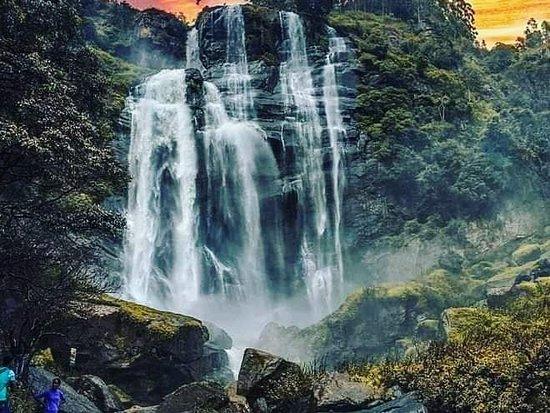 Welimada, Sri Lanka: #Bomburuella#waterfall#