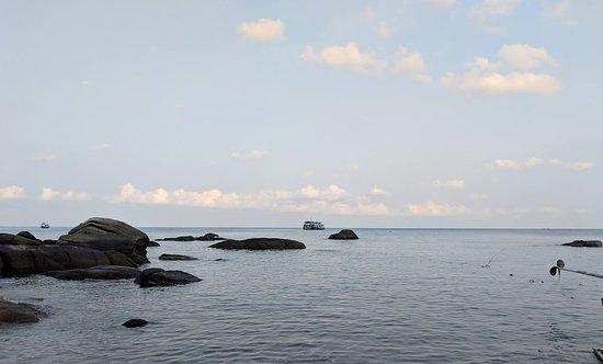 PADI open water: Vue de la plage