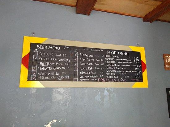 The brew board