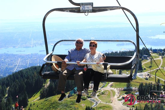 Grouse Mountain Admission: Photo taken by cam on the tower