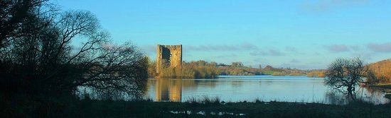 Beautiful Cloughoughter Castle, on a tiny island in the middle of Lough Oughter, Co Cavan. Close to where I live. Built by the Norman's in the 13th century. https://en.m.wikipedia.org/wiki/Cloughoughter_Castle