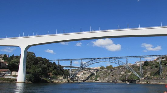 Porto Hop-On Hop-Off Tour with Optional River Cruise and Wine Tasting: 3 bridges all in 1 shot ...