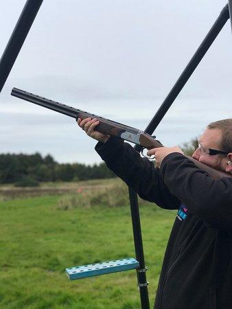 Taking aim.....