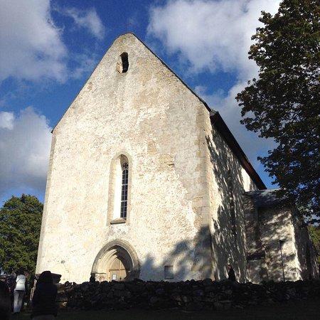 Leisi, Estland: The old church