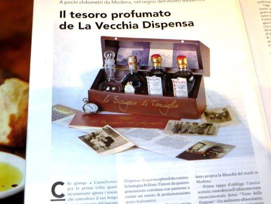 Acetaia La Vecchia Dispensa - Aceto Balsamico di Modena (Vinagre)