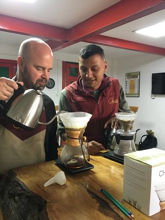 Traditional Coffee Tour With Tasting in Salento: Discovering new brewing methods