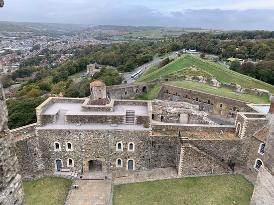 Dover Castle Entrance Ticket: Buildings surrounding the main castle