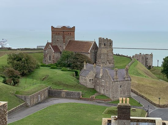 Dover Castle Entrance Ticket: St. Mary's Church