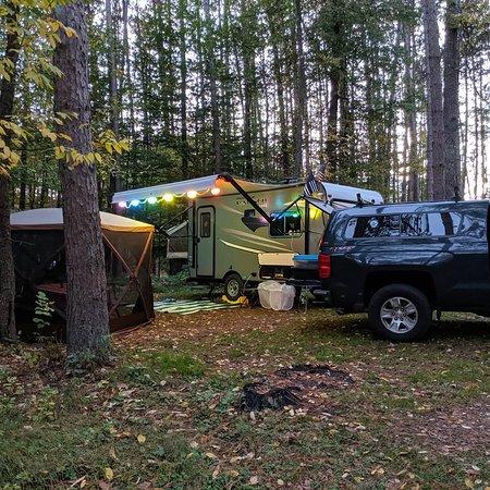 Relaxing Fall Camping