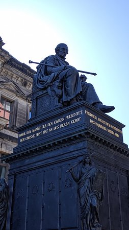 Monument to Frederick Augustus I the Just of Saxony