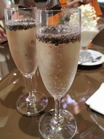 Chocolate Bubbles from Venchi, MSC Seaside