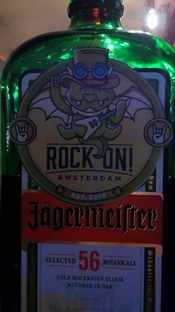 Our house drink is Jager!