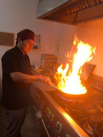 La Cúspide Valdemoro, Jorge Nuestro Chef
