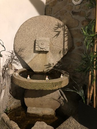 Varzea, โปรตุเกส: Charming water feature.