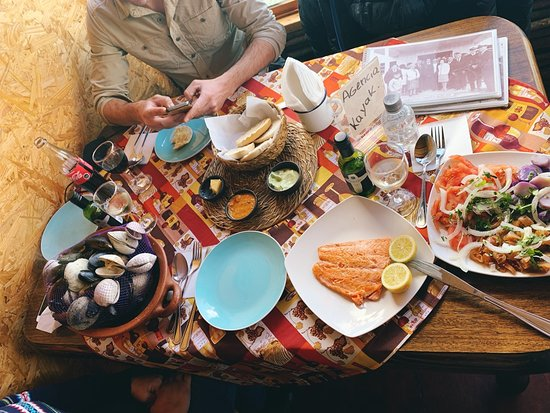 Myths and Legends of Chiloé - Full Day Tour: Our lunch :) All local foods