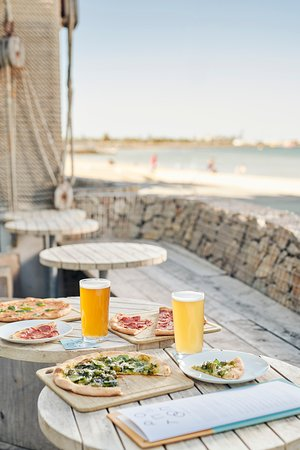 The perfect snack whilst having a beach side beer