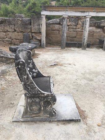Oropos, Griekenland: Кресло для почётных зрителей