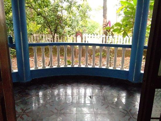 Αντζούνα, Ινδία: Balcony