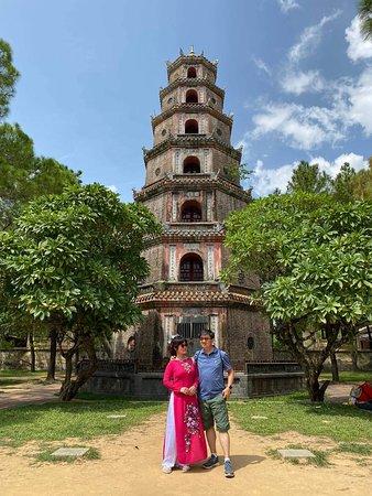 Hué, Vietnam: Thien mu pagoda