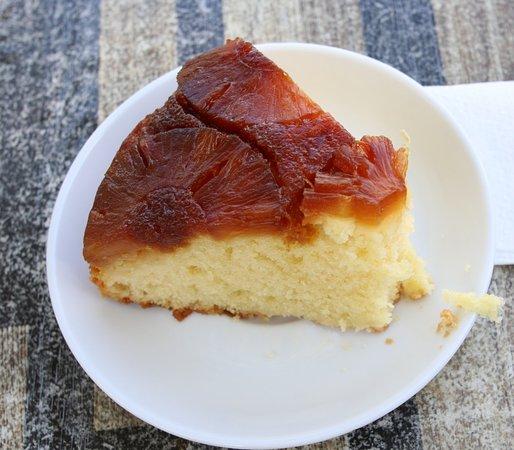 Gâteau maison aux ananas