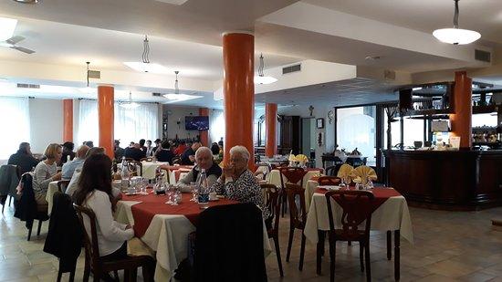 Piscina, Italy: sala centrale