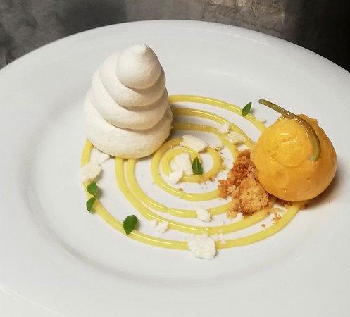 Le mont-citron, sorbet clémentine d'Espagne