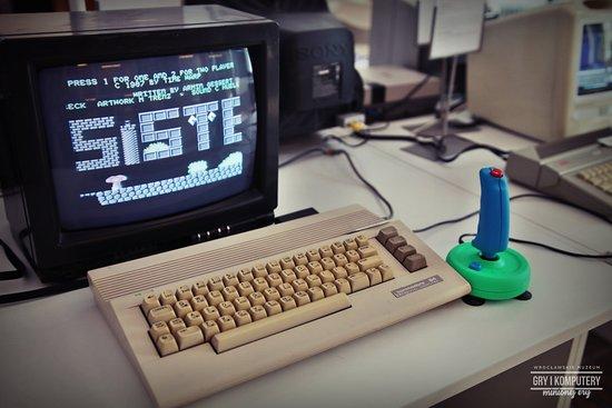 C64 w Muzeum Gry i Komputery Minionej Ery