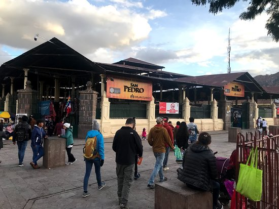 Cusco Cooking Class by ChocoMuseo: San Pedro Market