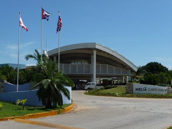 Eingangsbereich vom Melia Cayo Coco