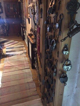 Lots of old padlocks