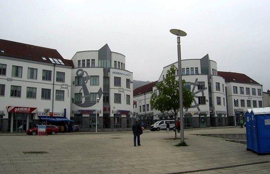 Sassnitz, Německo: Blick auf die Rügen Galerie